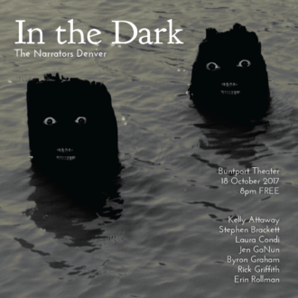 "This Wednesday in Denver: ""In the Dark"""