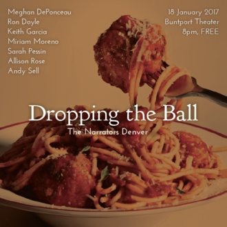 """This Wednesday in Denver: """"Dropping the Ball"""""""