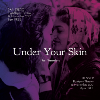 "Tuesday in San Diego, Wednesday in Denver: ""Under Your Skin"""