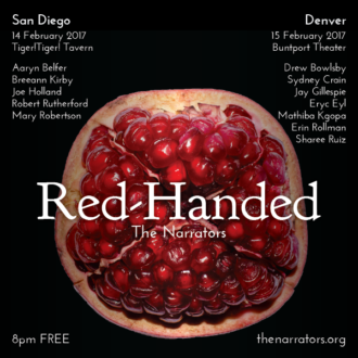 "Next Wednesday: ""Red-Handed"""