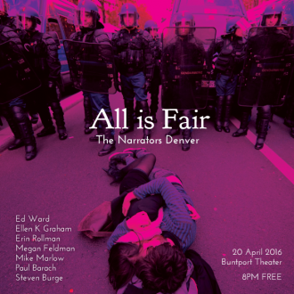 "This Wednesday in Denver: ""All is Fair"""