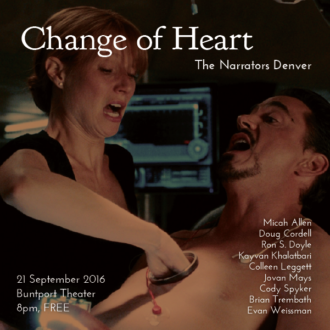 "This Wednesday in Denver: ""Change of Heart"""