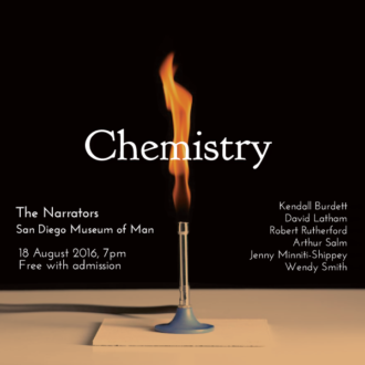 "This Thursday in San Diego: ""Chemistry"""