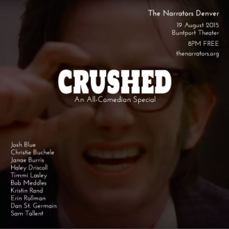 "This Wednesday: ""Crushed"""