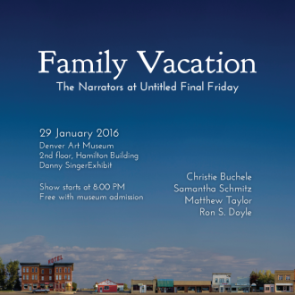 "This Friday at the Denver Art Museum: ""Family Vacation"""