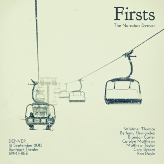 "This Wednesday in Denver: ""Firsts"""
