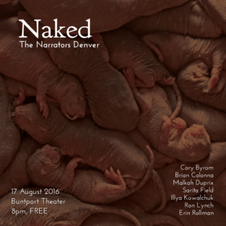 "This Wednesday in Denver: ""Naked"""