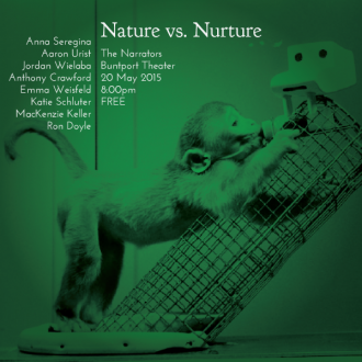 "This Wednesday: ""Nature vs. Nurture"""