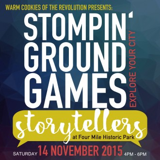 Stompin' Ground Games on Saturday!