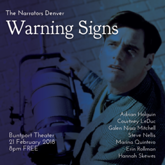 "This Wednesday in Denver: ""Warning Signs"""